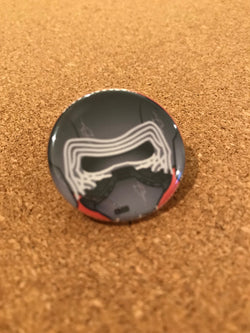 Star Wars Kylo Ren Pin Back Button