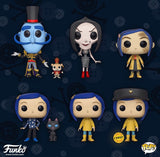 Funko Pop Movies Coraline Set of 6 with Chase