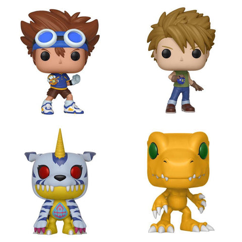 Funko Pop Animation Digimon Series 1 Set of 4