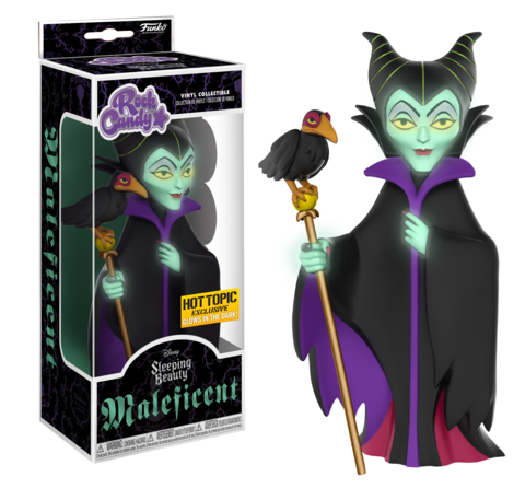 Funko Rick Candy Disney Maleficent (Glow in the Dark)