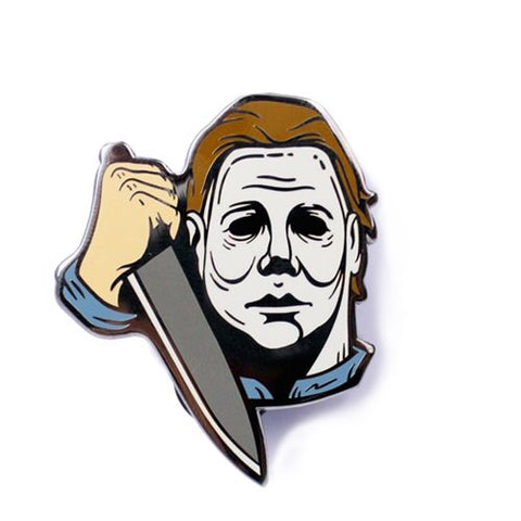 Creepy Co. Halloween Michael Myers Enamel Pin