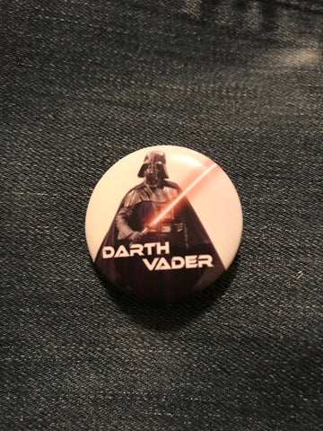 Star Wars Darth Vader with Lightsaber Button
