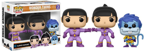 Funko Pop DC Wonder Twins with Gleek 3-Pack