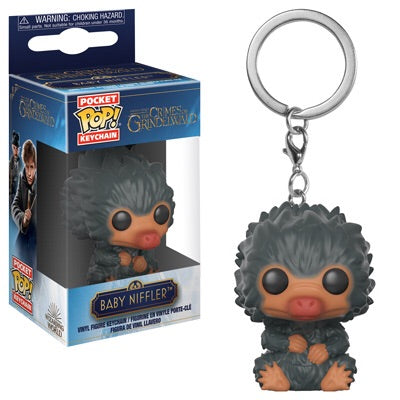 Funko Pocket Pop Keychain Fantastic Beasts 2 - Baby Niffler (Gray)