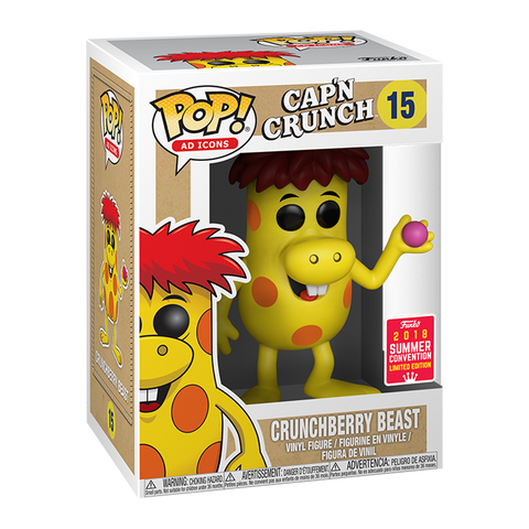 Funko Pop Ad Icons Cap'n Crunch - Crunchberry Beast