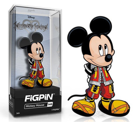 FiGPiN Disney Kingdom Hearts - Mickey Mouse