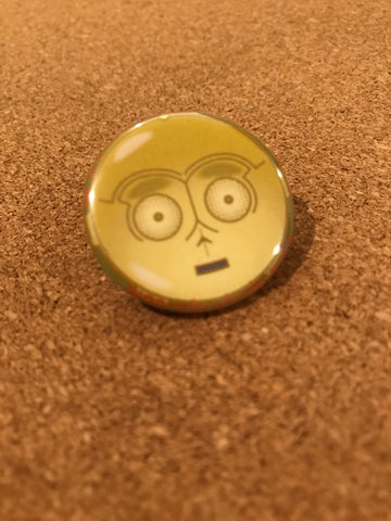 Star Wars C-3PO Pin Back Button