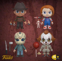 Funko 5 Star Horror Set of 4