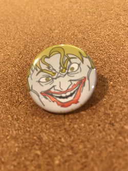 DC The Dark Knight Joker Pin Back Button