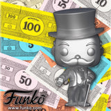 Funko Pop Board Games Mr. Monopoly (Silver)