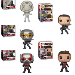 Funko Pop Marvel Ant-Man and The Wasp Set of 5 with Chases