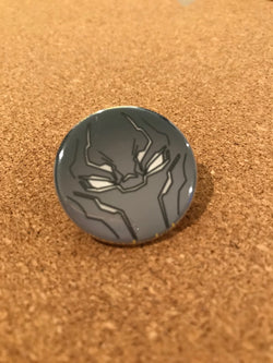 Marvel Black Panther Pin Back Button