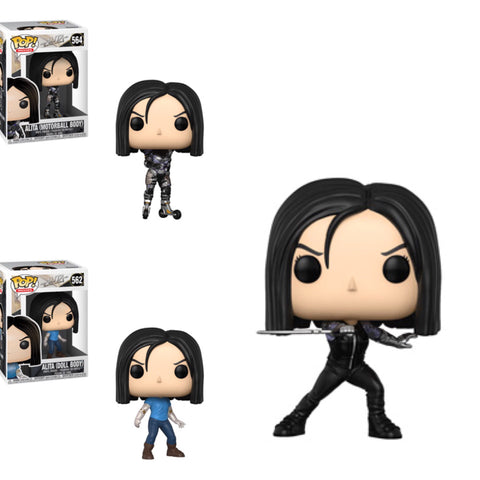 Funko Pop Movies Alita Final Battle Set of 3