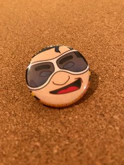 DC Plastic Man Pin Back Button