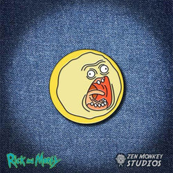 Rick and Morty Screaming Sun Pin