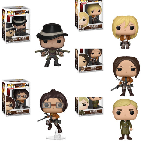 Funko Pop Animation Attack on Titan Season 3 Set of 5