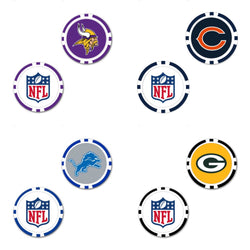 NFL NFC North Oversized Ball Marker