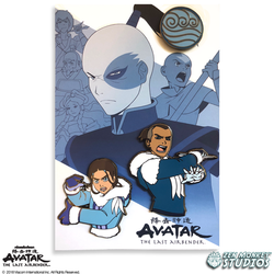 Avatar: The Last Avatar Book 1 Pin Set