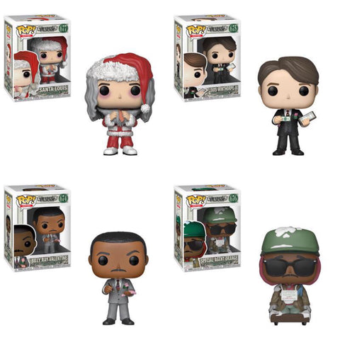 Funko Pop Moives Trading Places Set of 4