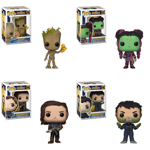 Funko Pop Marvel Avengers Infinity War Series 2 Set of 4
