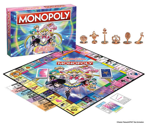 Sailor Moon Monopoly Edition Nerdy Collectibles
