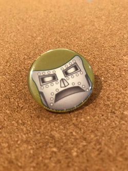 Marvel Dr. Doom Pin Back Button