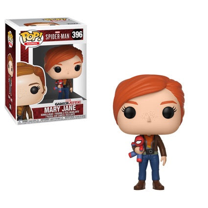Funko Pop Games Marvel Spider-Man S1 - Mary Jane with Plush