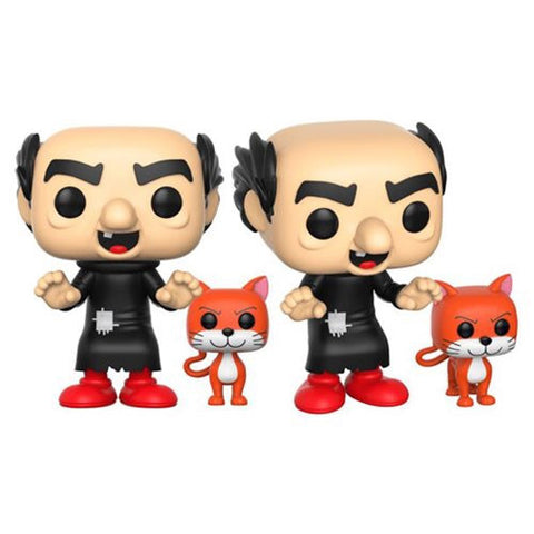Funko Pop Animation Smurfs Gargamel with Azrael