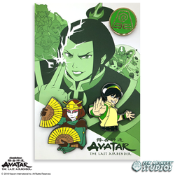 Avatar: The Last Airbender Book 2 Pin Set