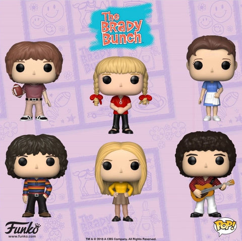 Funko Pop Television The Brady Bunch Set of 6