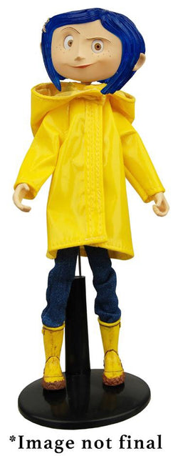 NECA Coraline in Raincoat Action Figure