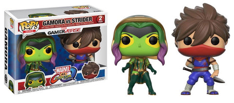 Funko Pop Games Marvel vs. Capcom Gamora vs Strider