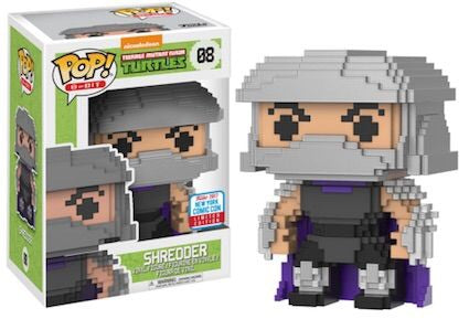 Funko Pop Television 8-Big Teenage Mutant Ninja Turtles Shredder
