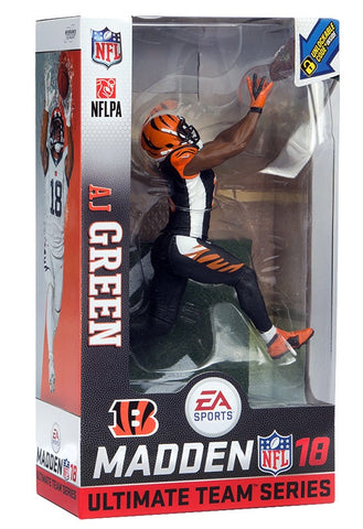 NFL Madden 18 Ultimate Team Series 1 A.J. Green Action Figure - Limited Chase Edition