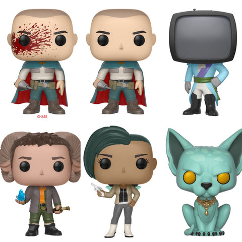 Funko Pop Comics Saga Series 1 Set of 6 with Chase