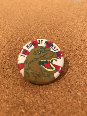 Gojirra Pin Back Button