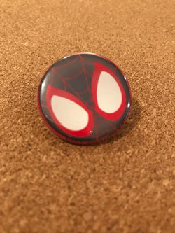 Marvel Miles Morales Pin Back Button