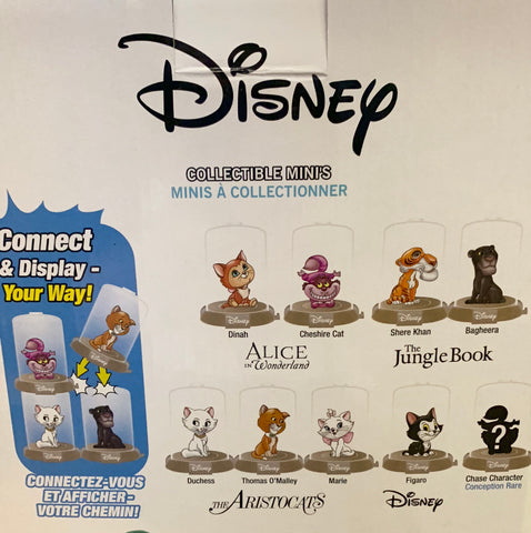 Disney Cats Domez Series 1 Mini Figure - Blind Bag