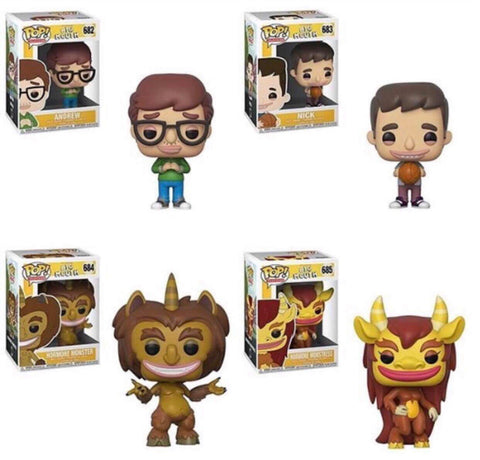 Funko Pop Television Big Mouth Set of 4