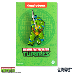 Teenage Mutant Ninja Turtles - Leaping Leo Pin