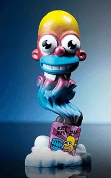 Kidrobot The Simpson's Mr. Sparkle Vinyl Figure