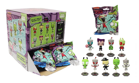 Nickelodeon Invader Zim Series 1 Buildable Figure - Blind Bag