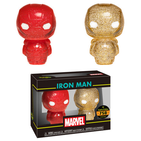Funko Hikari XS Marvel Iron Man 2-Pack (Red and Gold)