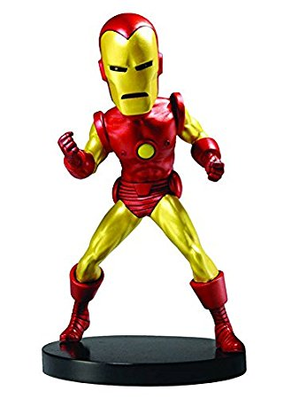 NECA Marvel Head Knocker Classic Iron Man