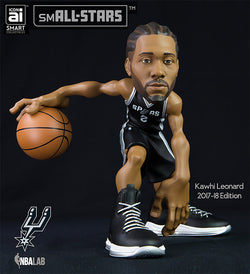 IconAI Small-Stars NBA San Antonio Spurs Kawhi Leonard 2017-2018 Icon Edition Figure