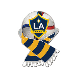 MLS Los Angeles Galaxy Scarf and Ball Enamel Pin