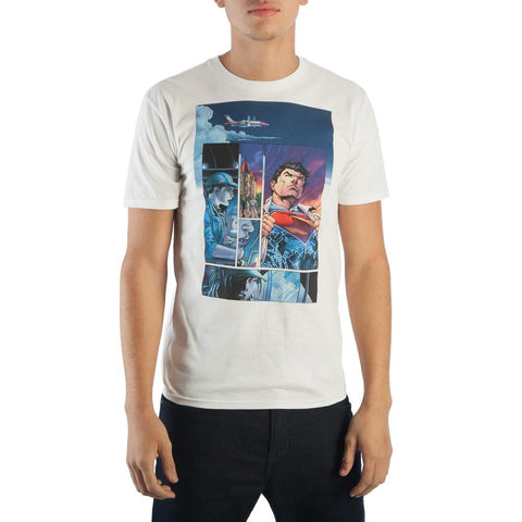 DC Superman White Tee