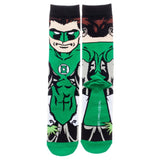 DC Universe Green Lanter 360 Character Socks