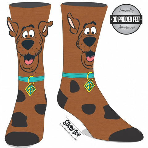 Scooby Doo Novelty Ears Crew Sock
