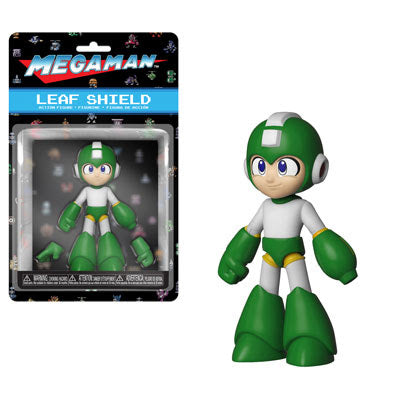 Funko Action Figures Mega Man - Mega Man (Leaf Shield)